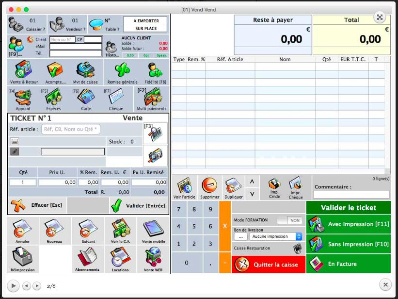 logiciel de caisse kintpv cogilog